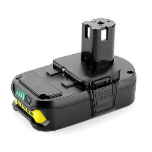 1Pc 18V 2.0Ah Haute Capacité Li-Ion Remplacer La Batterie pour Ryobi P108-1815 P102 Cpl Multicolore Pl067