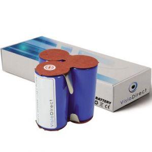 Batterie pour AEG Electrolux Junior 2.0 Type 141 aspirateur sans fil 2000mAh 3.6V - Visiodirect -