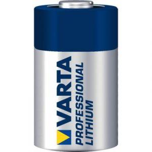 pile cr123 professional lithium (6205) varta idéal pour votre appareil photo