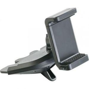 Support pour smartphone sur lecteur CD voiture
