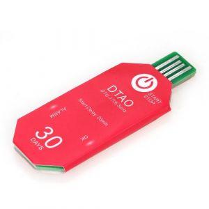 Zitainn Enregistreur de température - Imperméable 30 jours enregistreur de thermomètre à chaîne du froid pour l'industrie chimique biologique / médecine