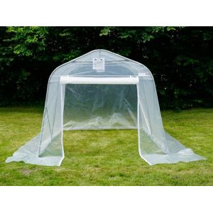 Serre tunnel, 2,4x3,6x2,4m, PE, 8,6m², Transparent