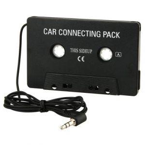 CABLING® Cassette adaptateur de voiture pour CD, MP3, lecteur de musique iPod