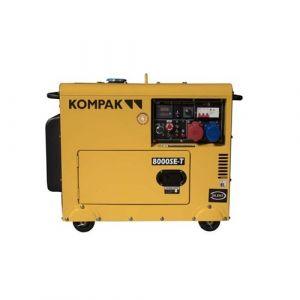 KOMPAK 8kva diesel mono et triphasé groupe électrogène K 8000 SE-T