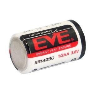1 pile Eve er14250 V Chlorure de thionyl Batterie au lithium 1/2AA 3,6 V 1200 maH