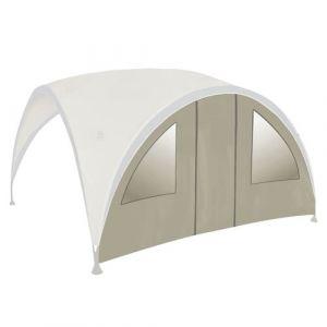 Bo-Garden Abris de camping BC Coté+fenêtre/porte PartyShelter Grey