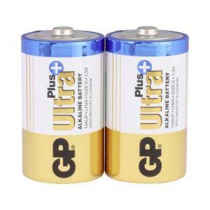 GP Batteries Ultra Plus Pack de 2 Piles Mono D/LR20/1,5 V
