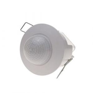 BeMatik - Détecteur de mouvement à infrarouge avec plafond encastré blanc