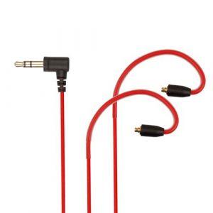 remplacement 5N MMCX Câble pour Shure SE215 SE425 SE535 SE846 SE315 Casque audio ROUGE