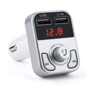 Transmetteur FM Bluetooth voiture Adaptateur Radio sans fil USB Chargeur Lecteur Mp3