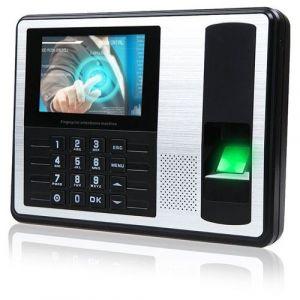 Pointeuse Horaire Badgeuse Biométrique écran 4 Pouces Contrôle D'accès 1000 Personnes - Yonis