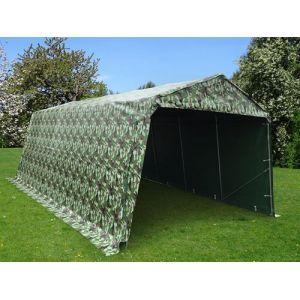 Tente abri Voiture garage PRO 3,3x6x2,4m PVC, Camouflage