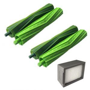 Brosses Kits pour hérisser iRobot Roomba + Core i7 Core i7 / Core i7 plus E5 E6 E7 Aspirateur Pealer288