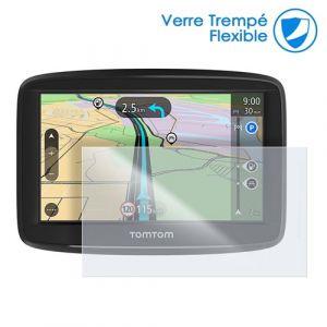 Film De Protection En Verre Flexible Pour Gps Tomtom Rider 550 Premium Pack