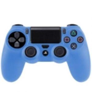 PS4 Coque Housse Silicone Manettes Bleu
