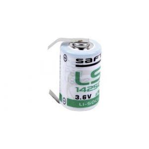 Pile spéciale 1/2 R6 lithium Saft LS14250CLG cosses à souder en U 3.6 V 1200 mAh 1 pc(s)