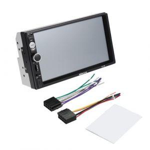 KKMOON 7 Inch Universel Double 2 Din Voiture Autoradio HD Lecteur Bluetooth DVD / CD / USB / AUX-IN / TF FM Multimédia Radio Système de Divertissement