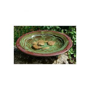 Baignoire pour oiseaux en ceramique
