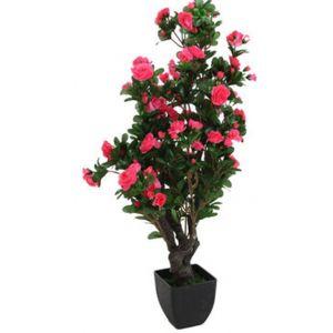 Plante Artificielle Azalée en polyester - Dimension H. 81 cm -PEGANE-
