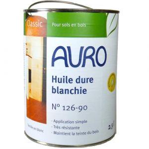 Auro - Huile dure blanchie (Bio et look scandinave) 2.5L - N° 126-90