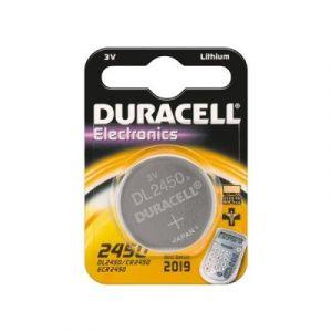 pile cr 2450 d 1-bl duracell (dl 2450)