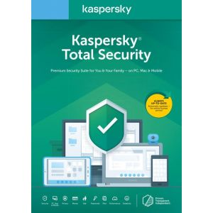 KASPERSKY TOTAL SECURITY 2020 FR/NL 3U 1Y