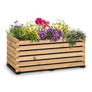 Blumfeldt Modu Grow 100 Carré potager surélevé 225 litres , 100 x 50 x 45 cm , bois de pin massif