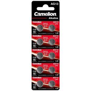 Camelion Blister 20 Piles Boutons AG13 LR44/LR1154/357 sans Mercure