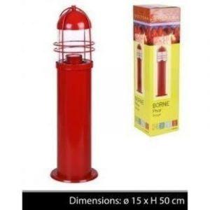 borne de marine phare eclairage de decoration lampe de jardin electrique pour terrasse ou chemin exterieur