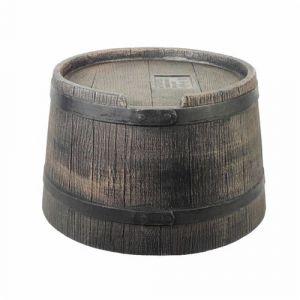 Pied Pour Récupérateur D'Eau En Forme De Barrique (Wiskey, 50 L) - Pe, Brun - H20 X Ø40 Cm