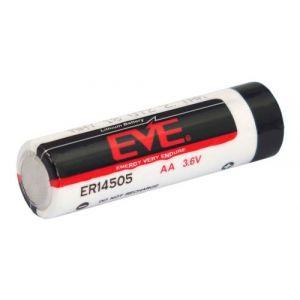 1 Pile EVE ER14505 LS14500 AA 3,6 V Lithium chlorure de thionyl (lisocl2) max. 2700 mAh