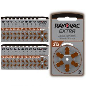 Piles Auditives Rayovac 312