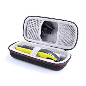 Housse / Étui de transport Antichoc Portable pour Philips OneBlade - Noir