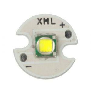 Ampoule de l émetteur du CREE XM-L T6 LED de l intense luminosité 10W, pour la lampe-torche, flux lumineux: 1000lm