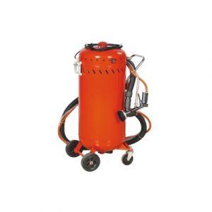 Combiné Sableuse mobile 106 litres 0-10 Bars