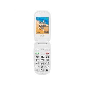 Téléphone Portable SPC Harmony 2304B Bluetooth FM Blanc