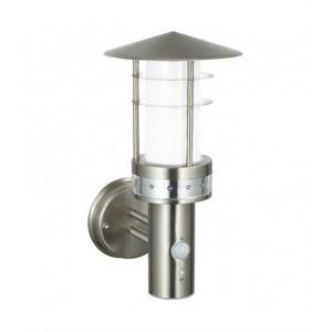 Applique Pagoda avec détecteur, acier inoxydable et plastique