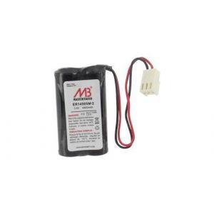 2 piles AA (R6) lithium 3,6V 4000 mAh + connecteur Molex microbatt BatLi05