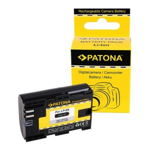 Batterie pour CANON LP-E6 LPE6 EOS 5D Mark II EOS 7D m. InfoChip
