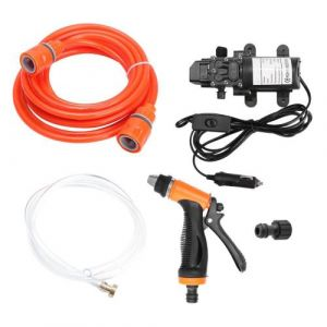 Kit de système de pompe de puissance de pulvérisateur de nettoyeur haute pression de voiture électrique 12V