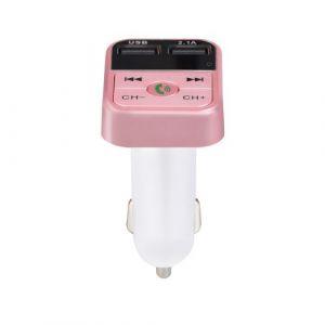 Kit mains libres de voiture sans fil Bluetooth Transmetteur FM LCD Lecteur MP3 Chargeur USB