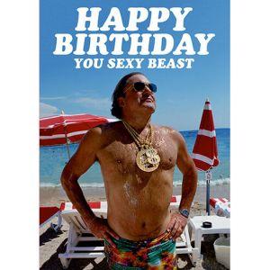 Carte Happy Birthday you sexy beast... Dean Morris