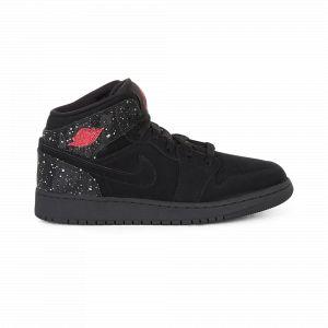 Air Jordan 1 Mid Jordan Noir/rose Speckles  38 Enfant