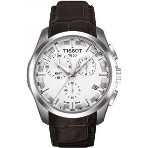 Montre Chronographe Homme Tissot Couturier GMT T0354391603100