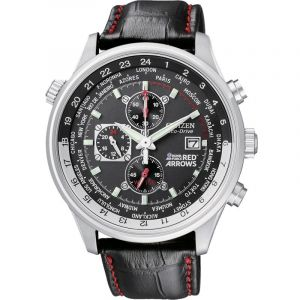 Montre Chronographe Homme Citizen Red Arrows World Time CA0080-03E