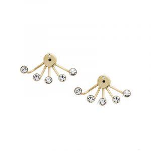 Bijoux Femme Fossil Chandelier Ear Jacket Boucles d'oreilles JF02393710