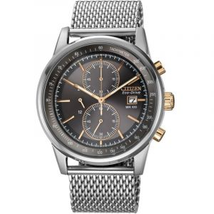 Montre Chronographe Homme Citizen Mesh CA0336-52H