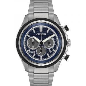 Montre Chronographe Homme Citizen Super Titanium CA4240-82L