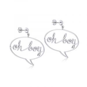 Bijoux Disney Couture Mickey Mouse Anniversary Mickey Oh Boy Boucles d'oreilles DSE378