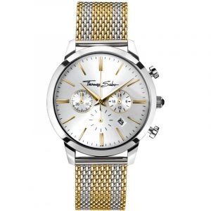 Montre Chronographe Homme Thomas Sabo Rebel Spirit Chrono WA0286-282-201-42MM